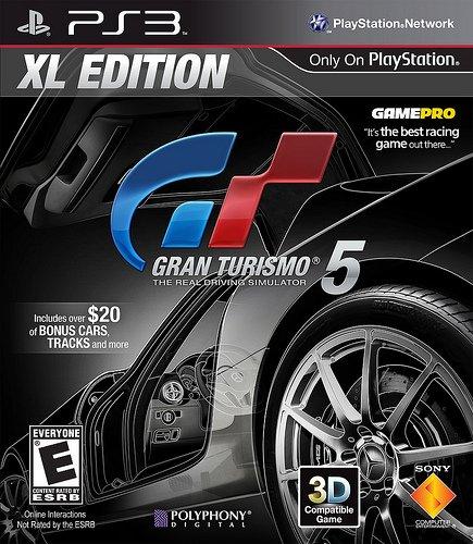 Gran Turismo 5 XL Edition Coming In January #20206