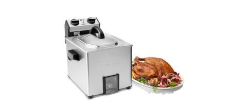 Cuisinart CDF-500 Extra-Large Rotisserie Fryer and Steamer review