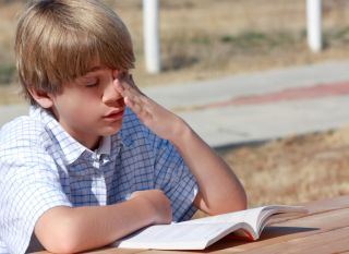 headache, concussion, kid, child, pain