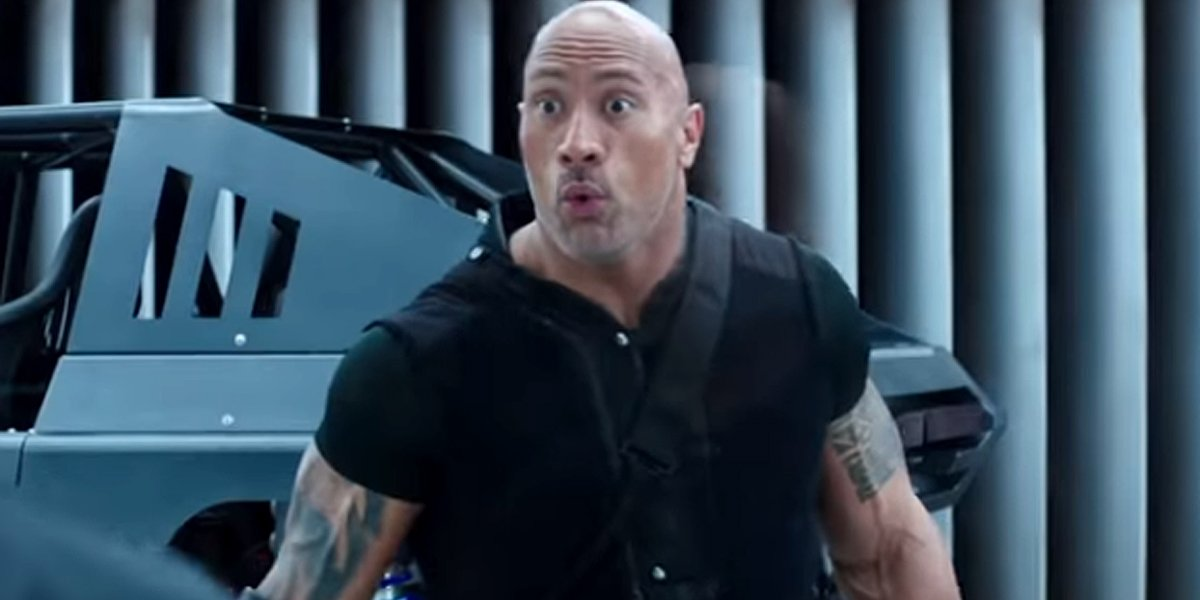 Dwayne Johnson in Hobbs and Shaw trailer