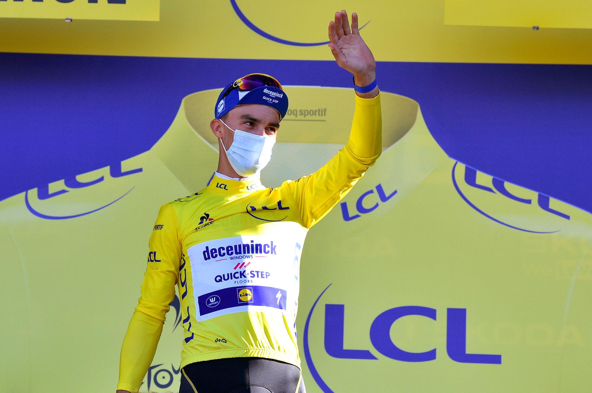 Tour de France 2020 107th Edition 3rd stage Nice Sisteron 198 km 31082020 Julian Alaphilippe FRA Deceuninck Quick Step photo POOL David StockmanBelgaBettiniPhoto2020