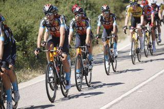 Vuelta Espana 2021 - 76th Edition - 3rd stage Santo Domingo de Silos - Picon Blanco 202.8 km - 16/08/2021 - Mikel Landa (ESP - Bahrain Victorious) - photo Luis Angel Gomez/BettiniPhoto©2021