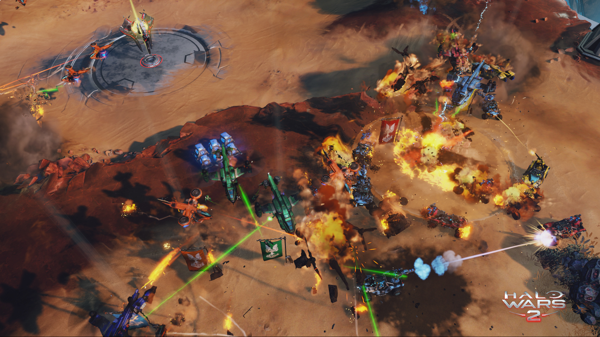Play Halo Wars 2 against Xbox One players thanks to crossplay update