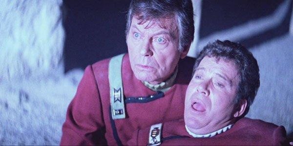 DeForest Kelly, William Shatner - Star Trek V: The Final Frontier