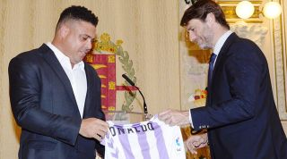 Ronaldo Real Valladolid