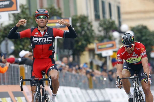 Greg Van Avermaet wins stage six of the 2016 Tirreno-Adriatico