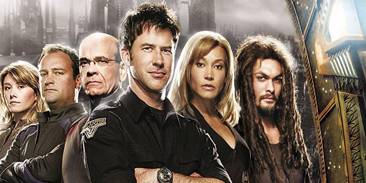 Stargate Atlantis cast including Jason Momoa and Joe Flanigan