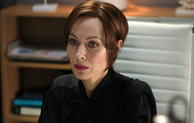 Casualty Connie Beauchamp (Amanda Mealing) struggles alone with severe anxiety