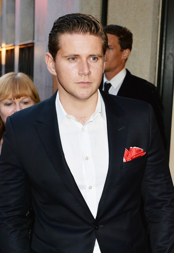 Allen Leech at the wrap party for ITV's Downton Abbey
