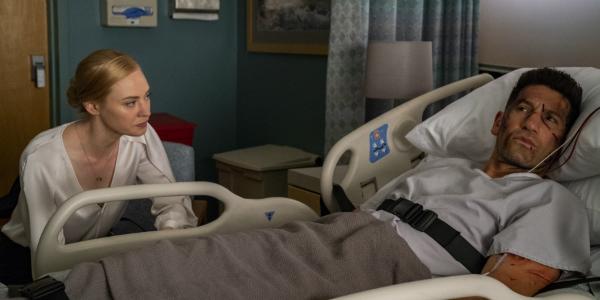 The Punisher Karen Page Deborah Ann Woll Frank Castle Jon Bernthal Netflix