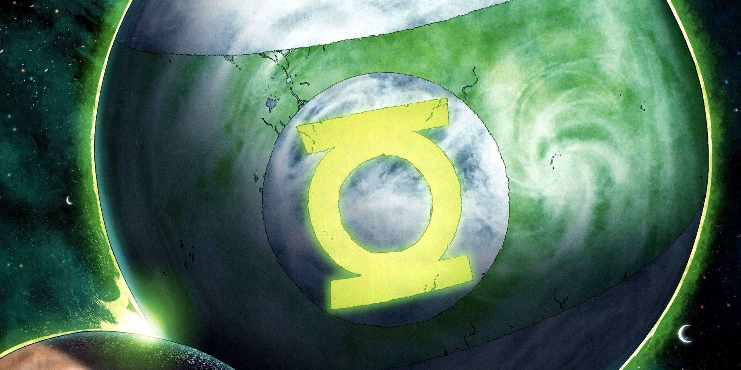 Mogo, the living planet green lantern dc comics
