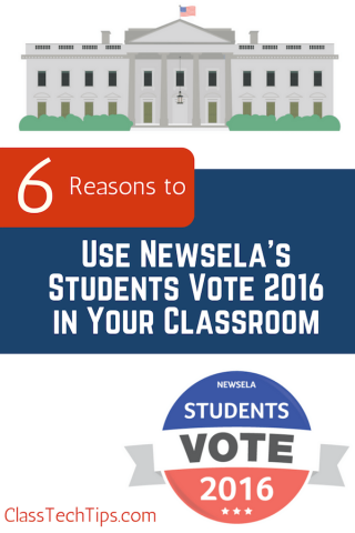 Class Tech Tips: 6 Reasons to Use Newsela's Students Vote 2016 in Your Classroom