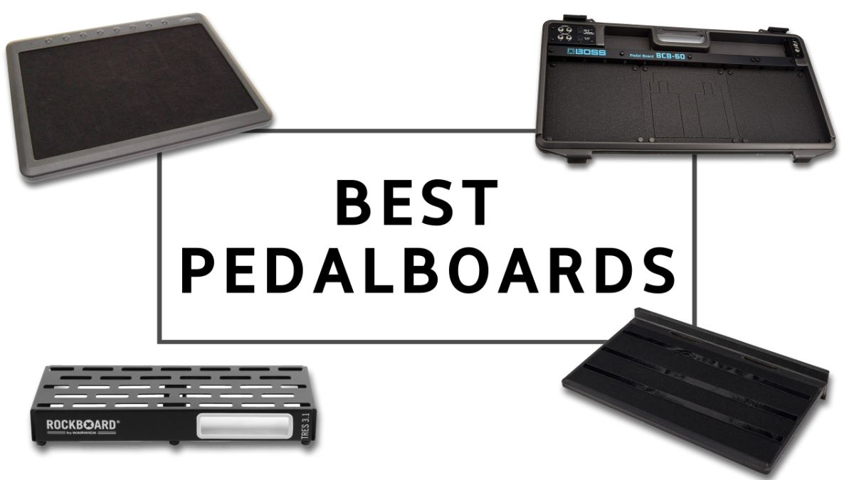 10 best pedalboards: organize your guitar effects with these budget-spanning pedalboards