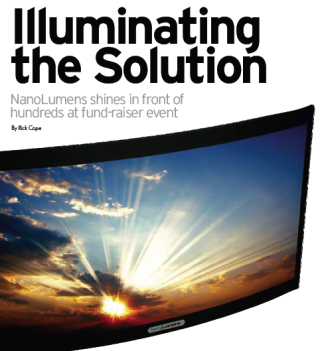 ILLUMINATING THE SOLUTION