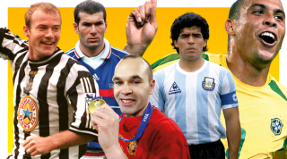 101 greatest football players of the last 25 years