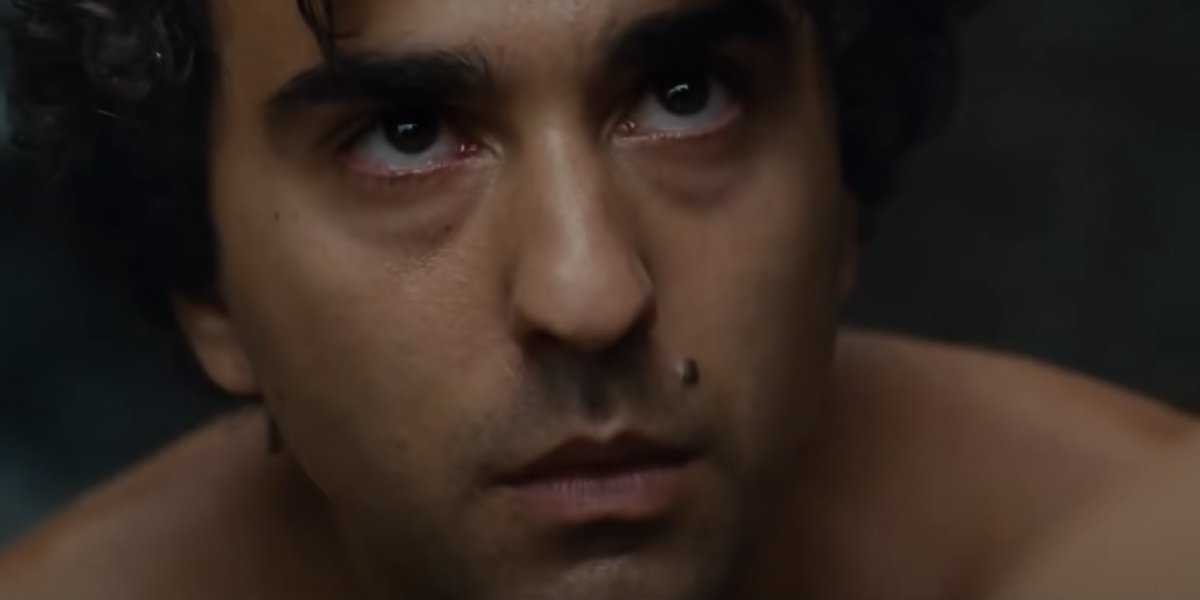 Alex Wolff as 15-Year-Old Trent in Old