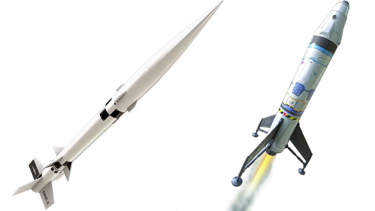 I bought these Estes model rockets for Prime Day so I can launch all summer long
