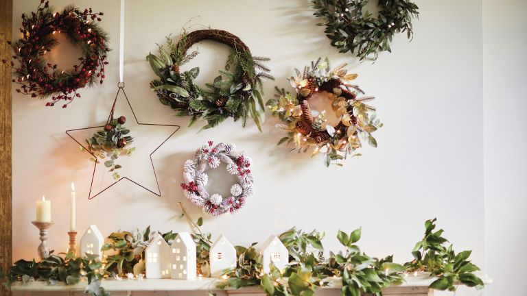 Christmas wreaths from M&S