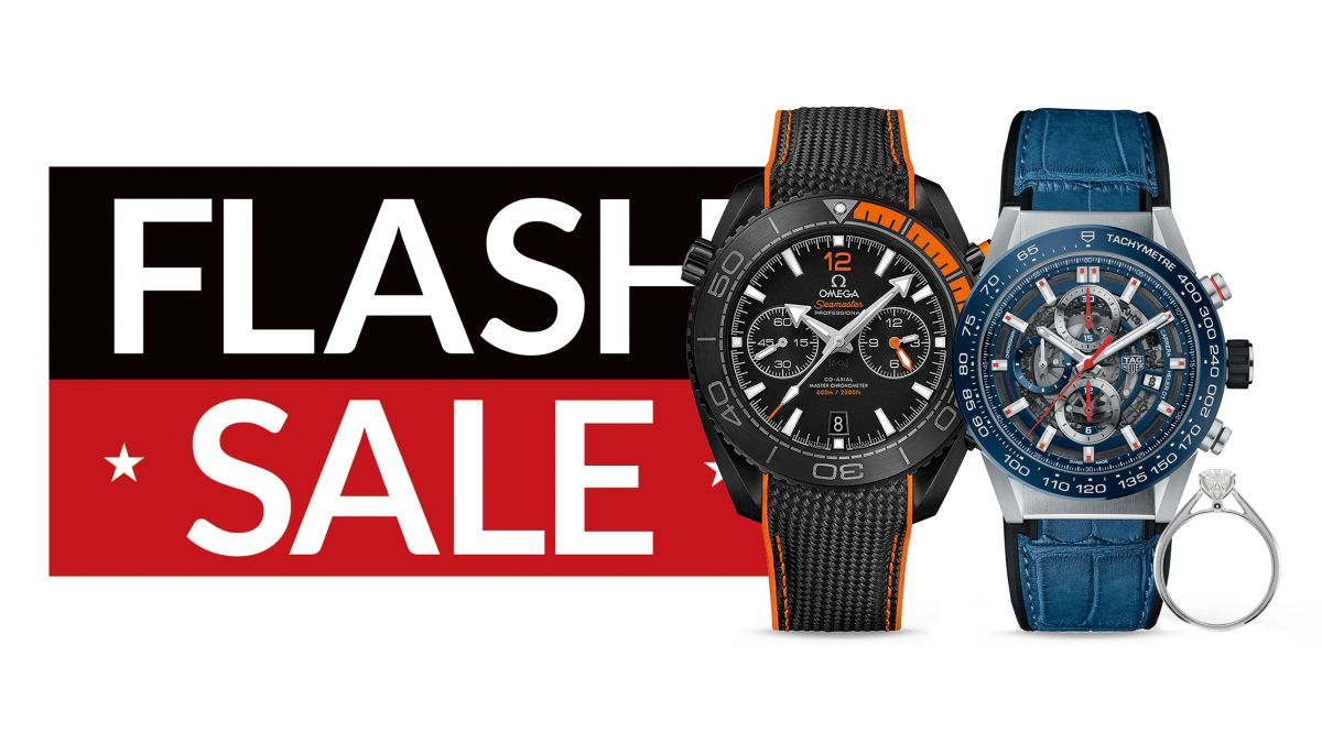 Last Chance! Save up to 50% on TAG Heuer, Omega and more in the Goldsmith's sale!