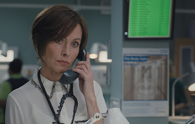 Calling all Casualty fans. Connie's massive in the next block of Casualty storylines!