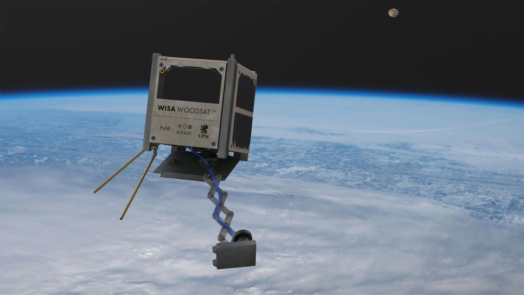 The world's first wooden satellite will launch this year