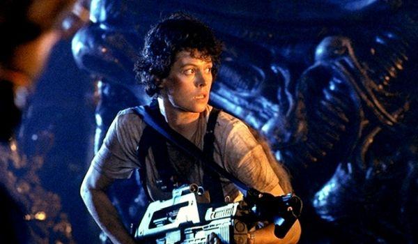 Sigourney Weaver in Aliens