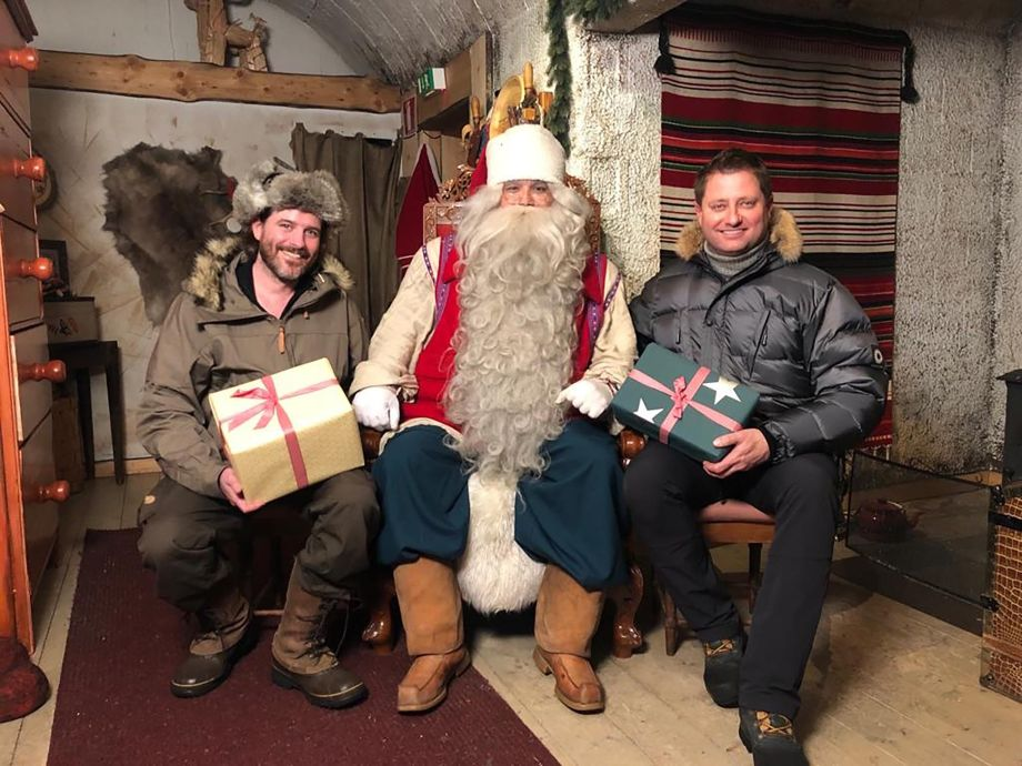 George Clarke, Will Hardie and Santa Amazing Spaces: Northern Lights Adventure
