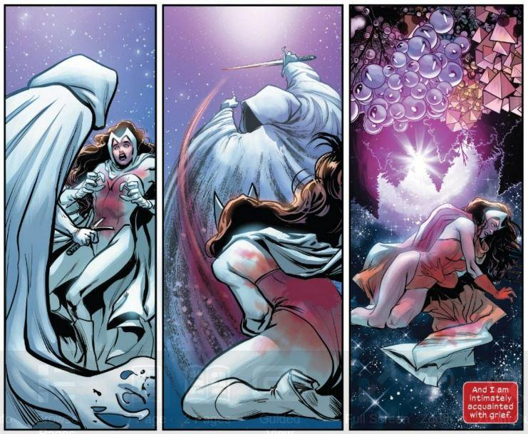 Extracto de X-Men: The Trial of Magneto # 1