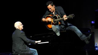 Roy Bittan with Bruce Springsteen