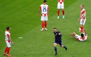 Callum McGregor Scotland vs Croatia Euro 2020