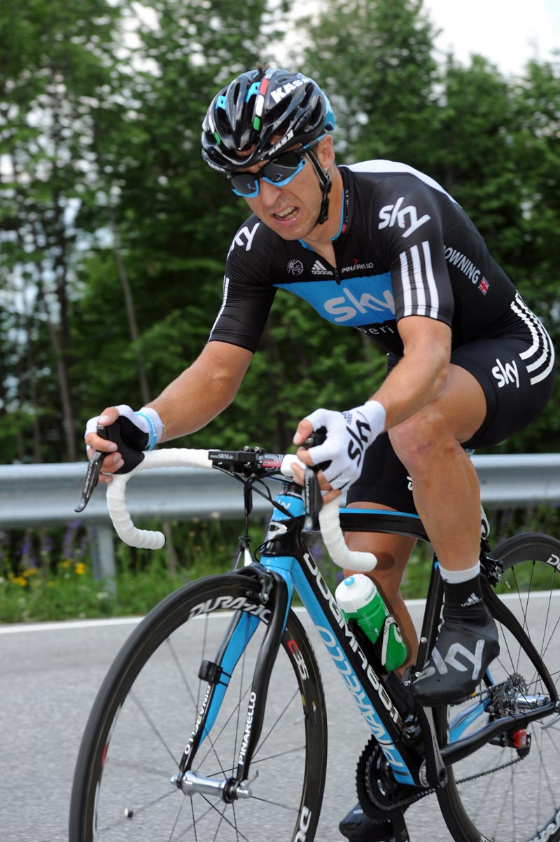 Russell Downing, Giro d
