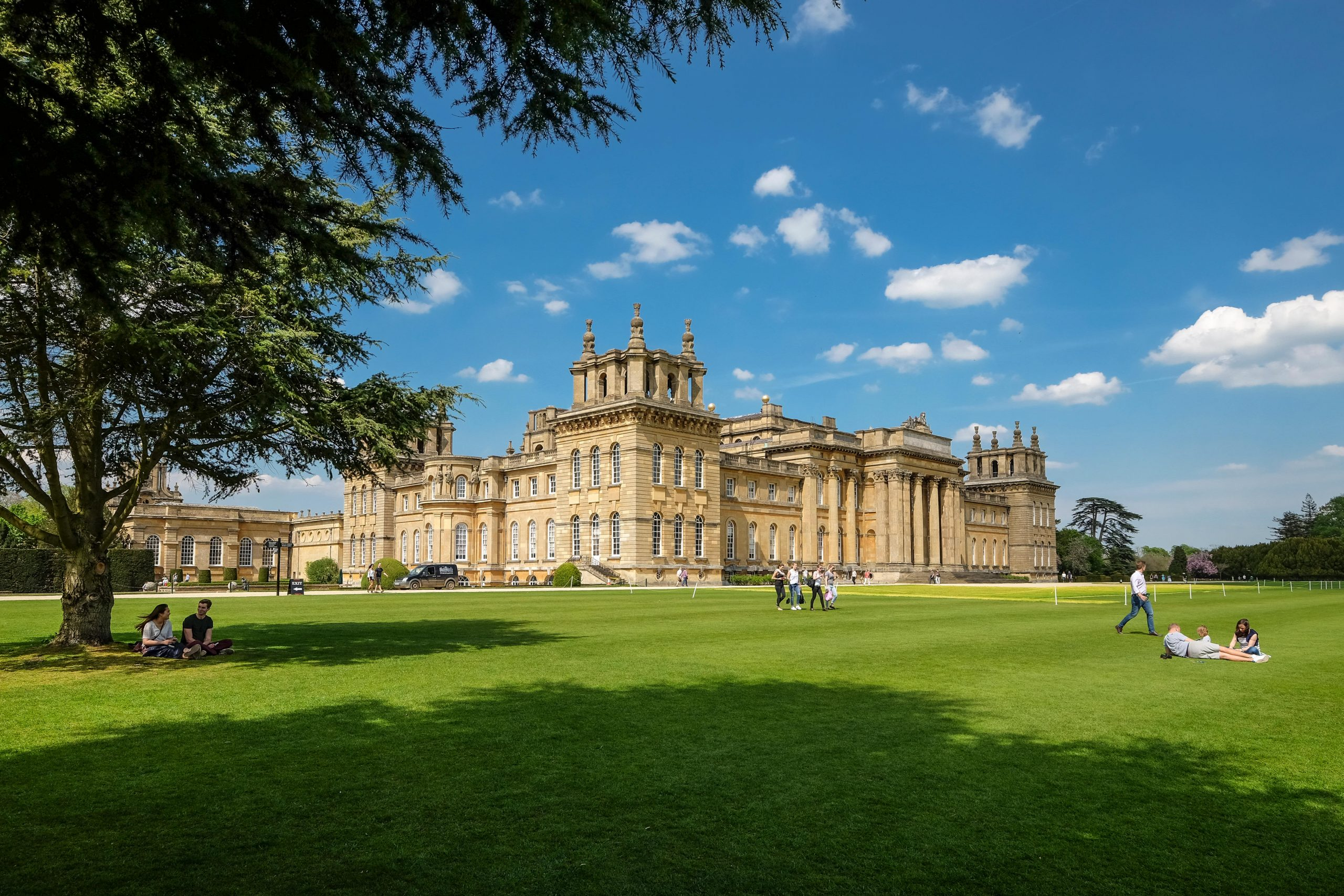Blenheim Palace stately home