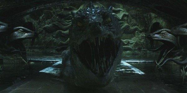 Basilisk Chamber of secrets Harry Potter