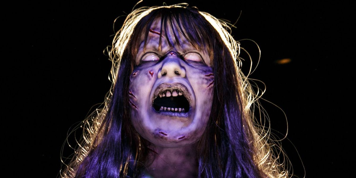 Exorcist maze at Universal Hollywood's Halloween Horror Nights 2021