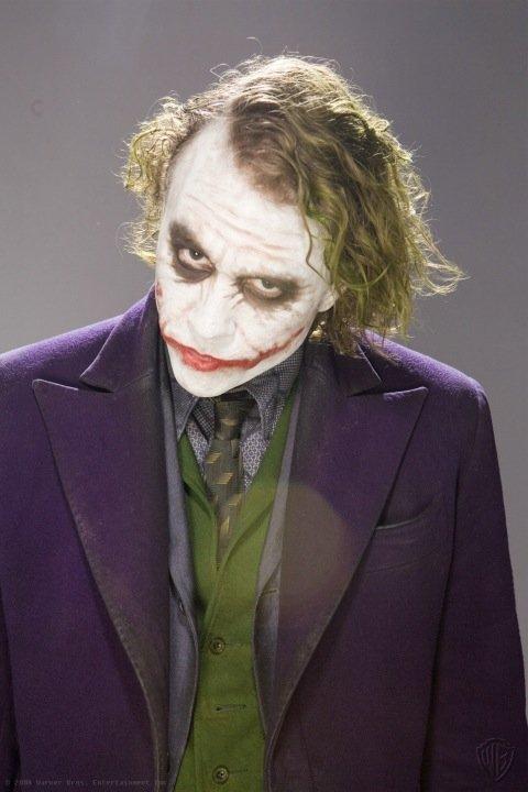 joker dark knight face