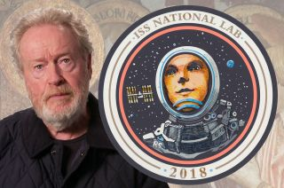 ridley scott space station patch