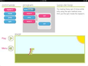 Class Tech Tips: Daisy the Dinosaur to Teach Coding