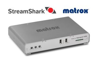 StreamShark Video CDN and Matrox Monarch