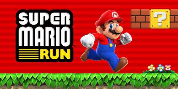 Logo for Super Mario Run on Mobile