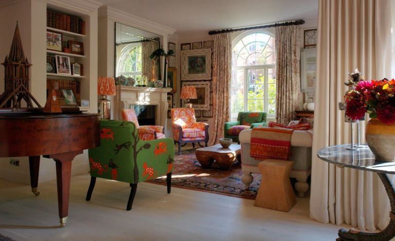 Kit Kemp top tips reupholstering a chair