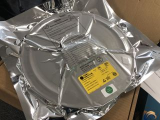 A reel of RP2040 chips