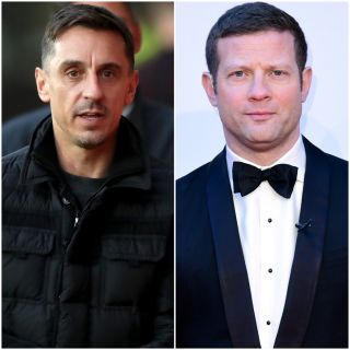 Gary Neville and Dermot O'Leary