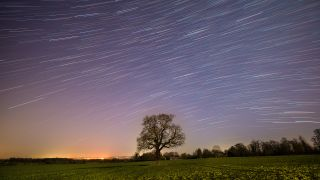How to photograph and blend multiple images of the night sky to create beautiful star trails