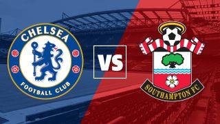 Chelsea vs Southampton badges