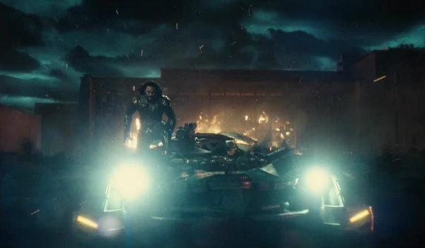 Justice League Aquaman Batmobile