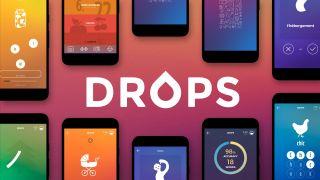 Drops homepage