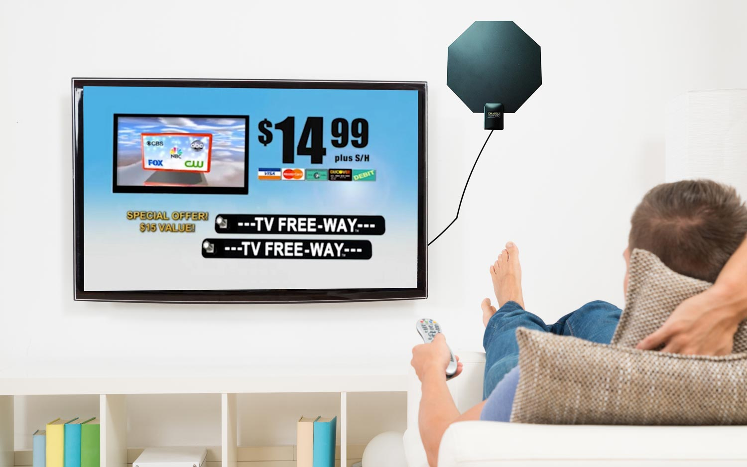 Every 'As Seen on TV' Antenna We Tested Is Bad (or Overpriced