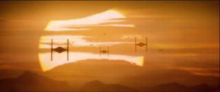 TIE Fighters in 'Star Wars: The Force Awakens'