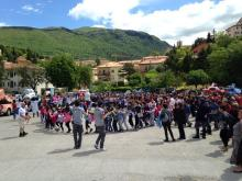Celebrations at Foligno stage 8