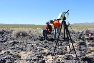 TextureCam in Mojave Desert
